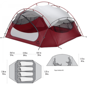 photo: MSR Papa Hubba NX three-season tent
