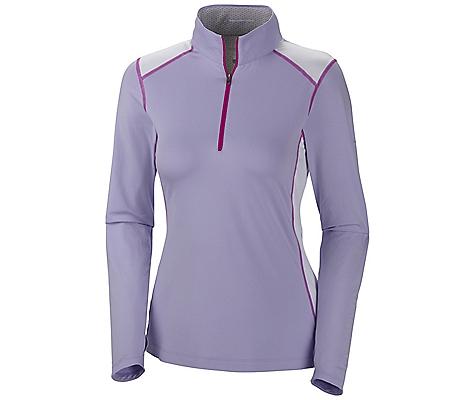 photo: Columbia Women's Freeze Degree II Half Zip Shirt long sleeve performance top