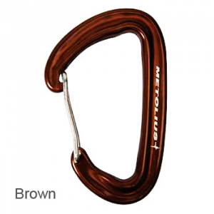 photo: Metolius Inferno Wiregate Carabiner non-locking carabiner