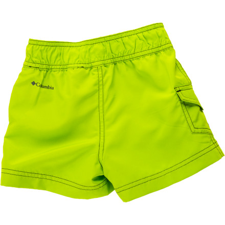 photo: Columbia Boys' Solar Stream Boardshort active short