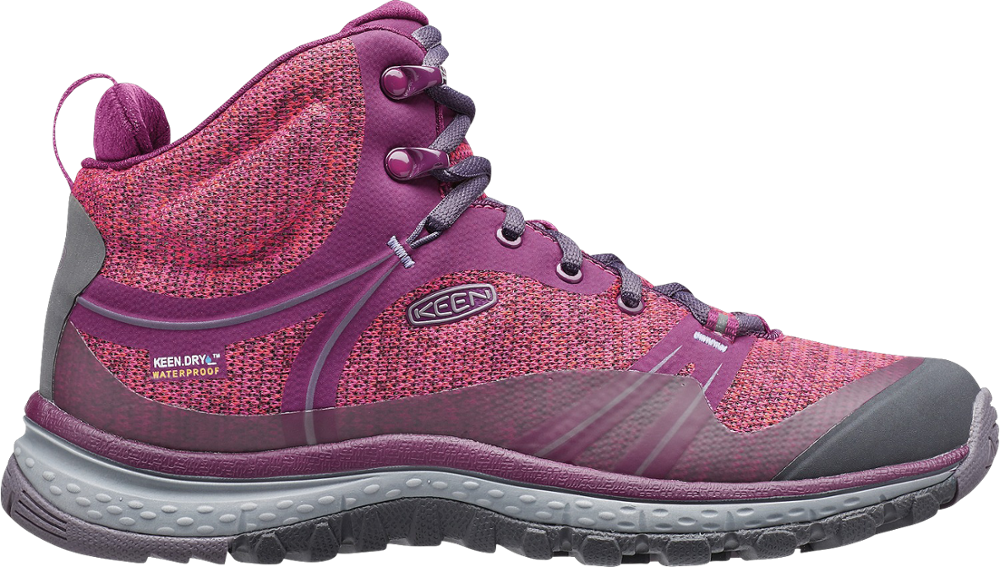 photo: Keen Women's Terradora Waterproof Mid hiking boot