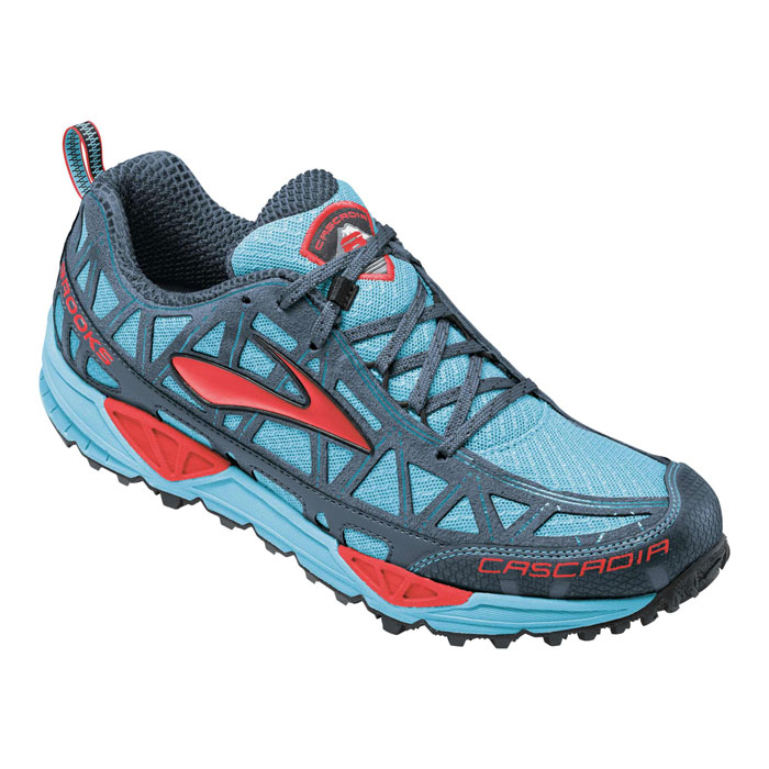 photo: Brooks Women's Cascadia 8 trail running shoe