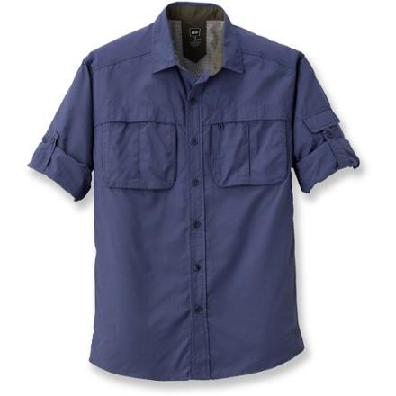 photo: REI Men's Sahara Tech Long-Sleeve Shirt hiking shirt