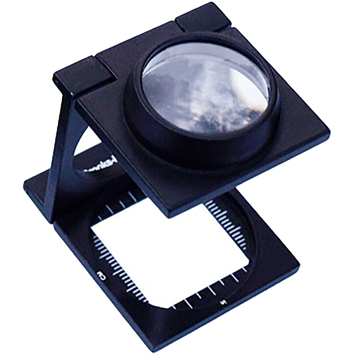 photo: Brooks-Range Folding Magnifier X10 snow study device