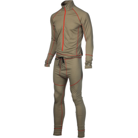 photo: Stoic Merino 200 1-Z Suit one-piece base layer