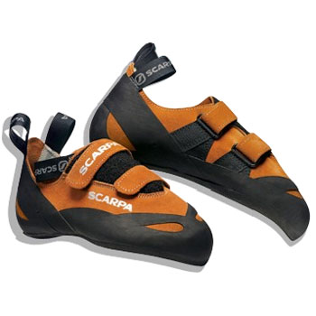 photo: Scarpa Dominator Velcro climbing shoe