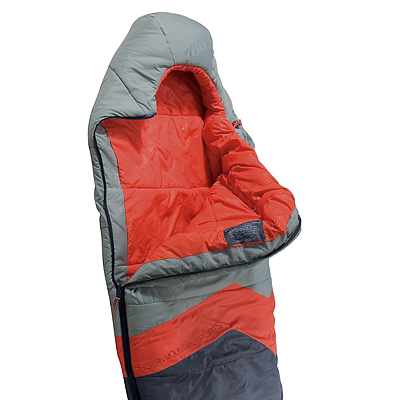 photo: EMS Boreal 25 3-season synthetic sleeping bag