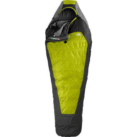 photo: The North Face Snowshoe 3-season synthetic sleeping bag