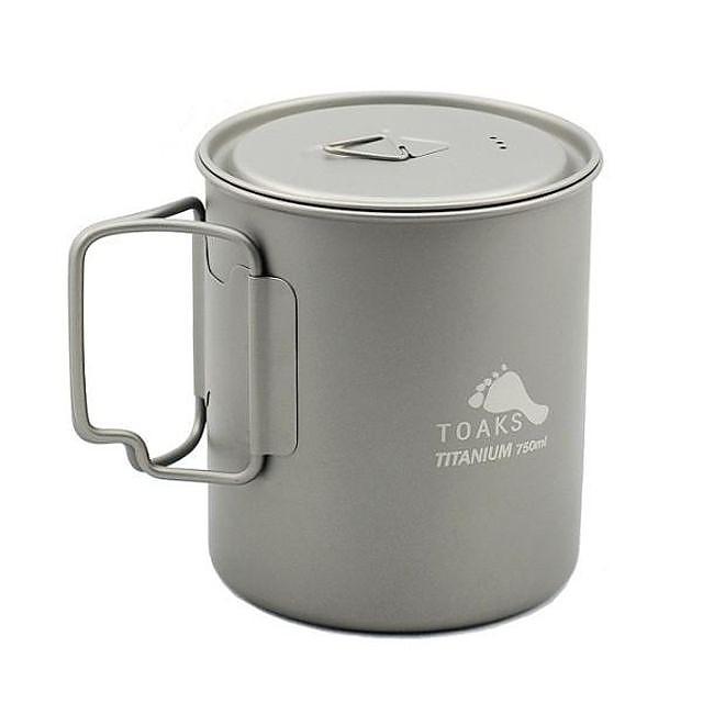 photo: Toaks Titanium 750ml Pot pot/pan