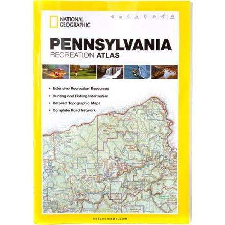 photo: National Geographic Pennsylvania Recreation Atlas us northeast guidebook
