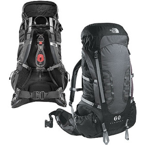 photo: The North Face Women's Pivotal 60 weekend pack (3,000 - 4,499 cu in)