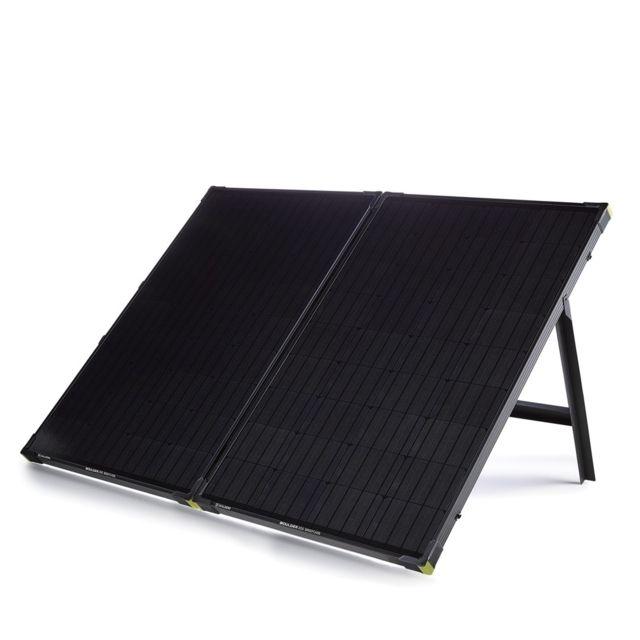 photo: Goal Zero Boulder 200 Solar Panel Briefcase solar panel