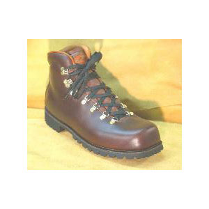 photo of a Van Gorkom backpacking boot