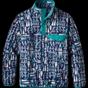 photo: Patagonia Boys' Lightweight Synchilla Snap-T Pullover fleece jacket