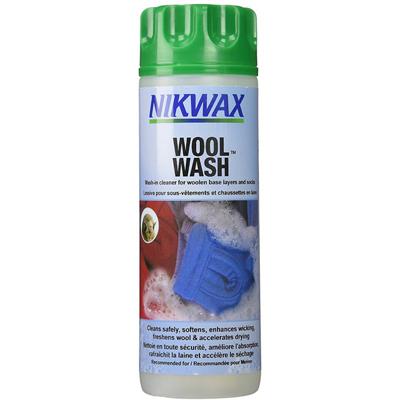 photo: Nikwax Wool Wash fabric cleaner/treatment