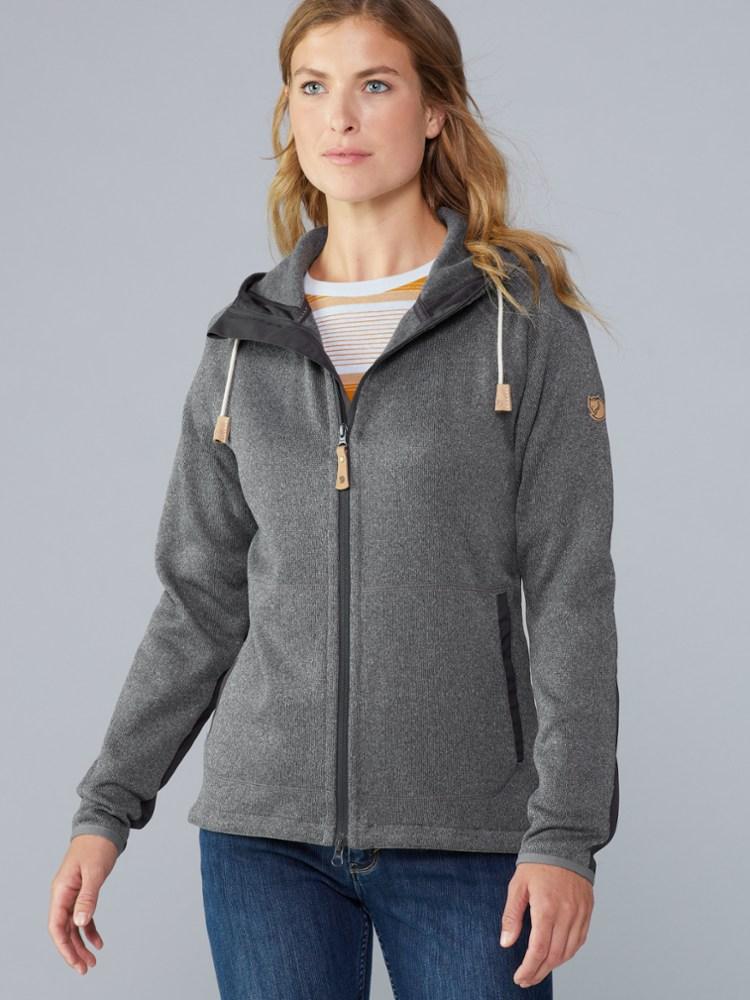photo: Fjallraven Women's Ovik Fleece Hoodie fleece jacket