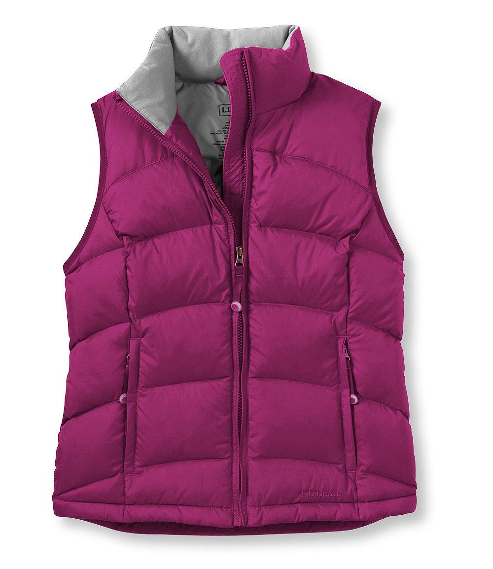 photo: L.L.Bean Women's Goose Down Vest down insulated vest