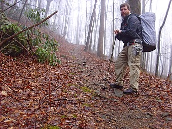 acbc55fdd98 Me and my Asolo TPS 520 GV s on the Beech Creek Trail in the Southern  Nantahala Wilderness.