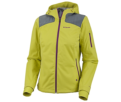 photo: Columbia Women's Guide Ride Softshell soft shell jacket
