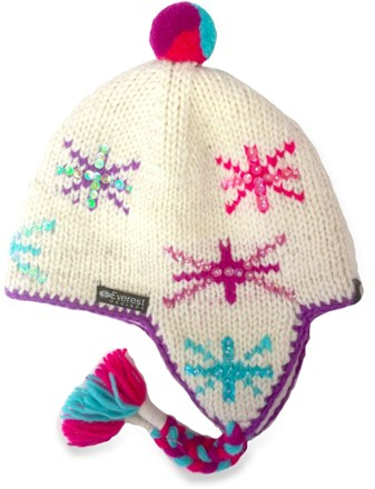 Everest Designs Twinkle Earflap Hat