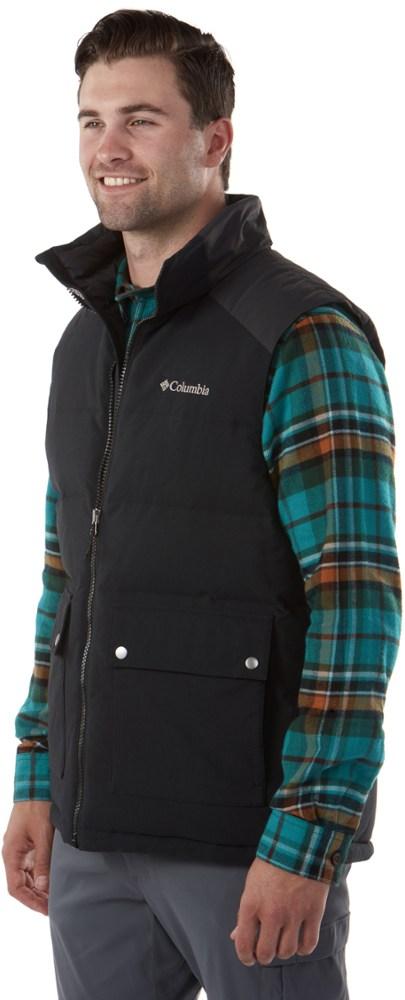 photo: Columbia Winter Challenger Vest down insulated vest