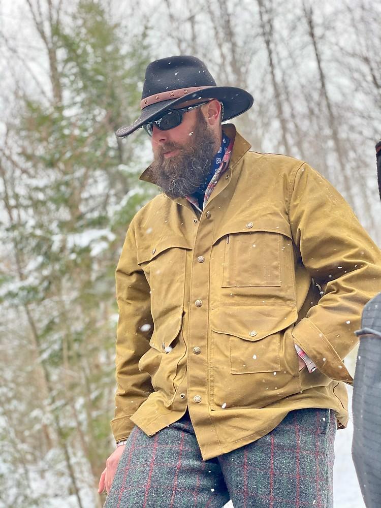 photo: Filson Tin Cloth Cruiser jacket
