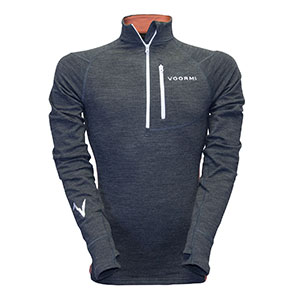 photo of a Voormi long sleeve performance top