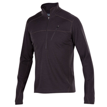 photo: Ibex Shak Lite Half-Zip long sleeve performance top