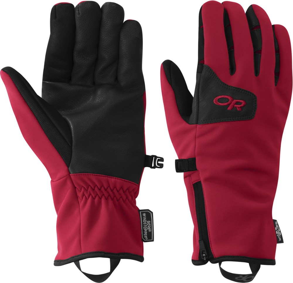 photo: Outdoor Research Men's Stormtracker Gloves soft shell glove/mitten