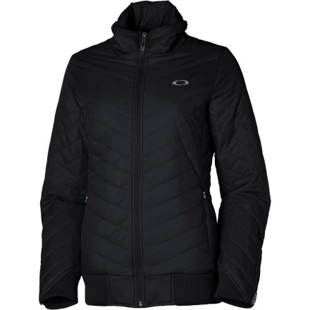 photo: Oakley Zig Zag Jacket synthetic insulated jacket