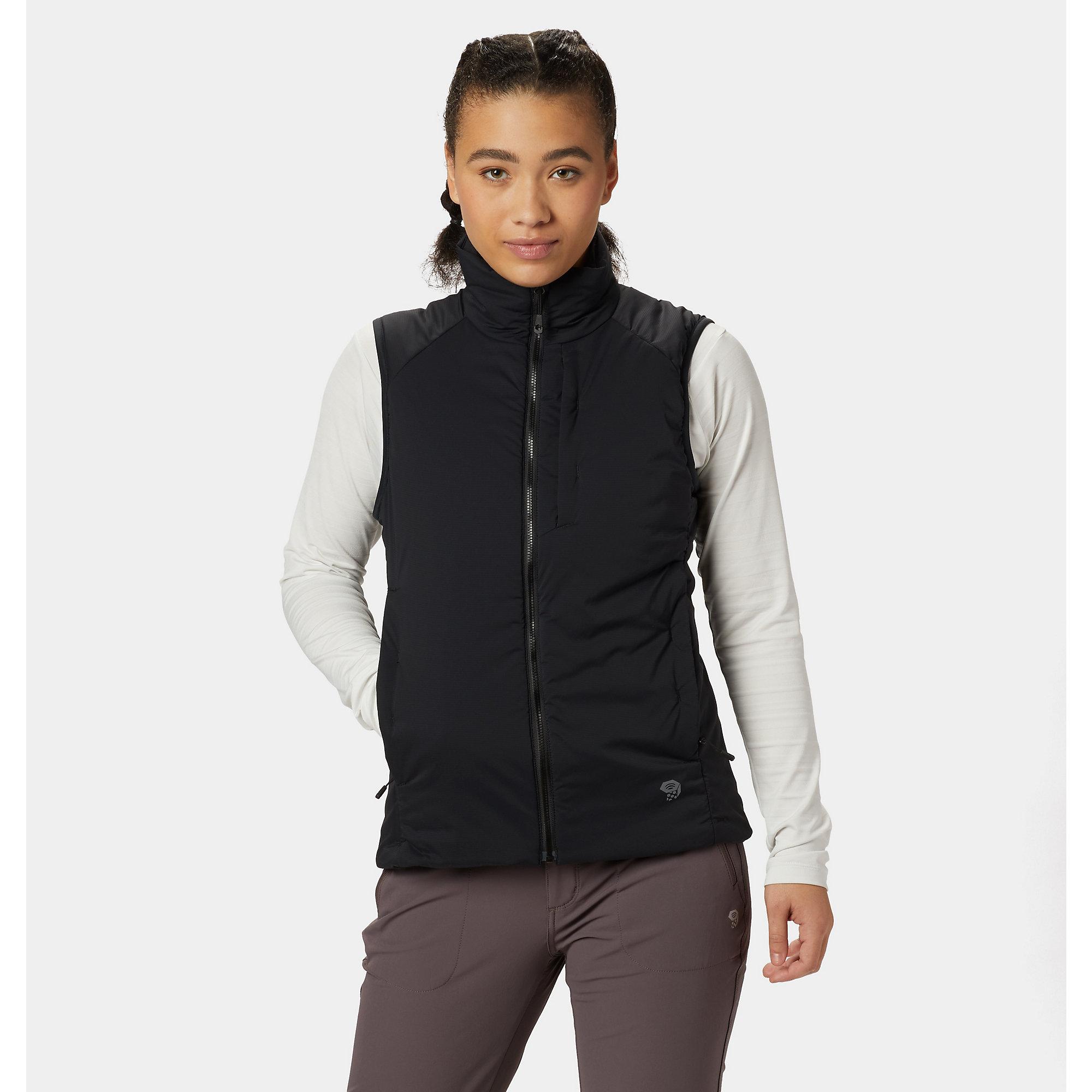 photo: Mountain Hardwear Women's Kor Strata Vest synthetic insulated vest