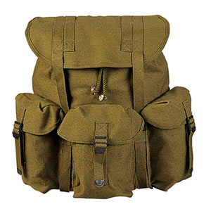 photo: U.S. Military ALICE Pack external frame backpack