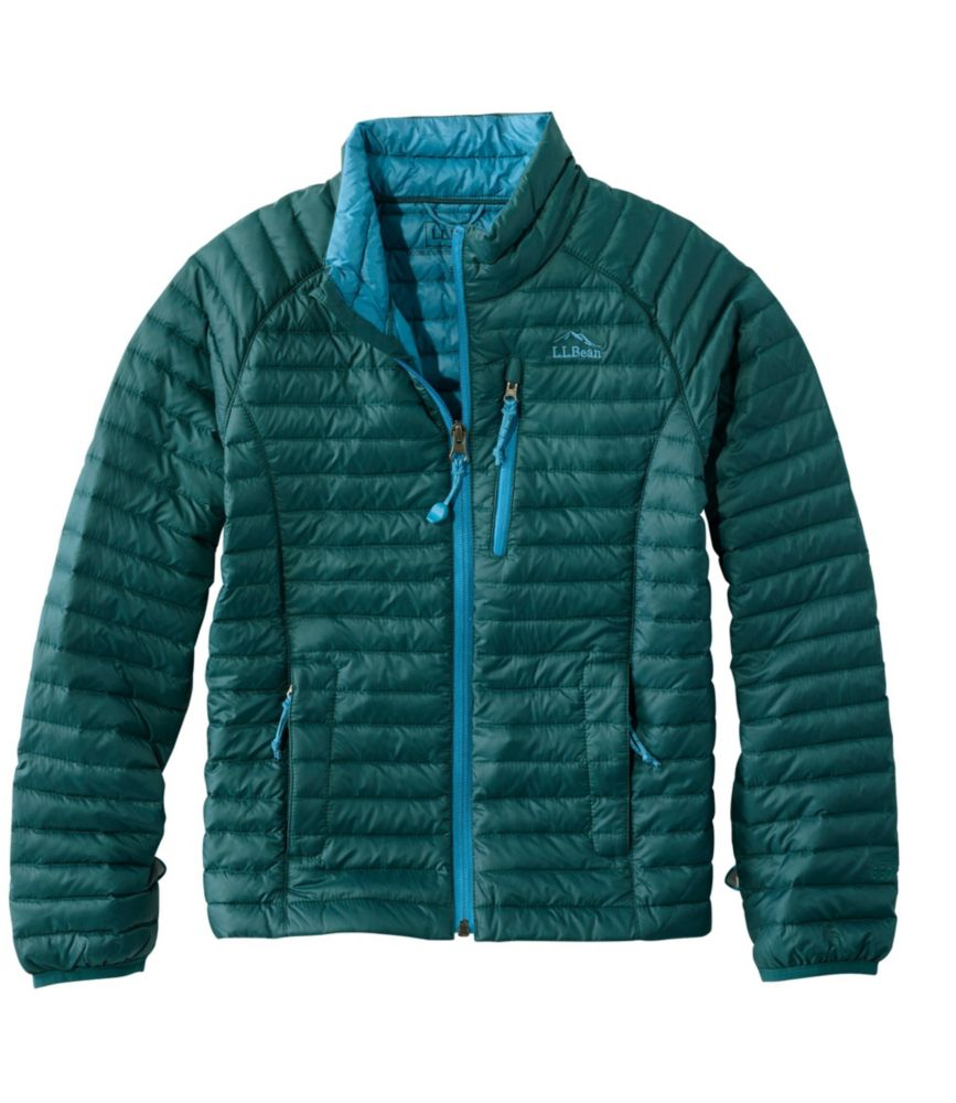 photo: L.L.Bean Boys' Ultralight 650 Down Sweater down insulated jacket