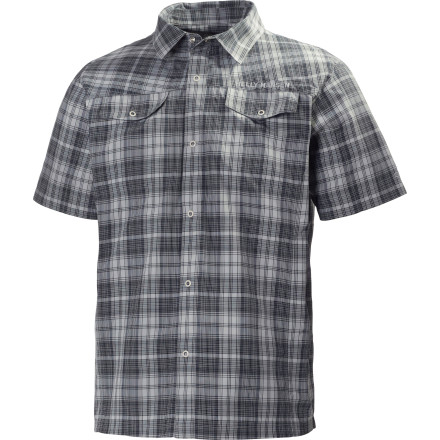 photo: Helly Hansen Odin Mountain Shirt hiking shirt