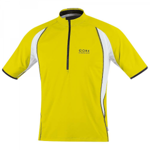 photo: Gore Air Zip Shirt - Short-Sleeve short sleeve performance top