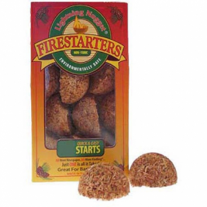 photo: Lightning Nuggets Firestarters fire starter