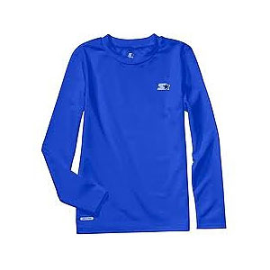 photo:   Starter Long-Sleeve Dri-Star Shirt long sleeve performance top