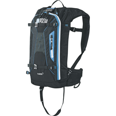 photo: Snowpulse Prorider 15 avalanche airbag pack