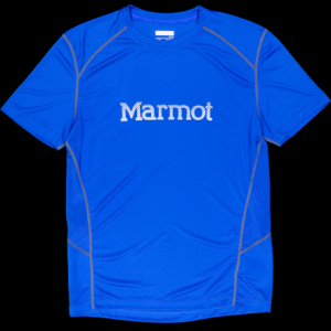 photo: Marmot Windridge Graphic SS short sleeve performance top