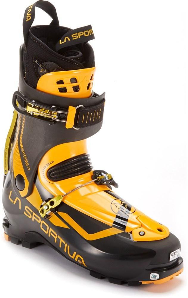photo: La Sportiva Spitfire 2.0 alpine touring boot