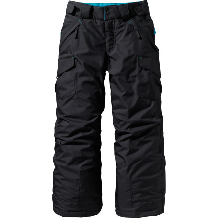 photo: Patagonia Girls' Go-Snow Pants synthetic insulated pant