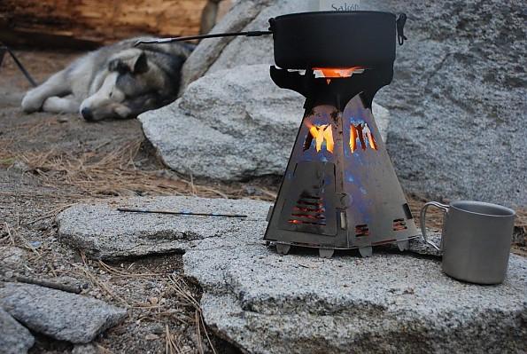 Mummert Phoenix Wood-Burning Titanium Camp Stove