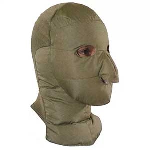 photo: Eddie Bauer Goose Down Face Mask balaclava