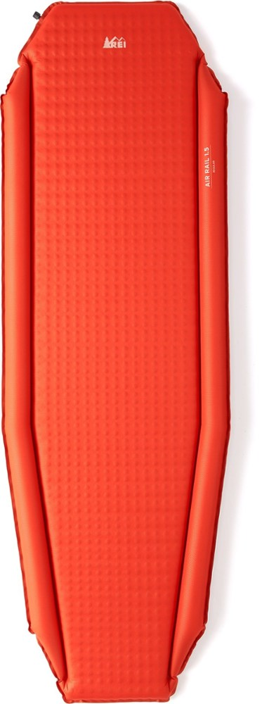 photo: REI AirRail 1.5 Self-Inflating Pad self-inflating sleeping pad