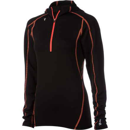 Stoic Merino Composite 1/4 Zip Top