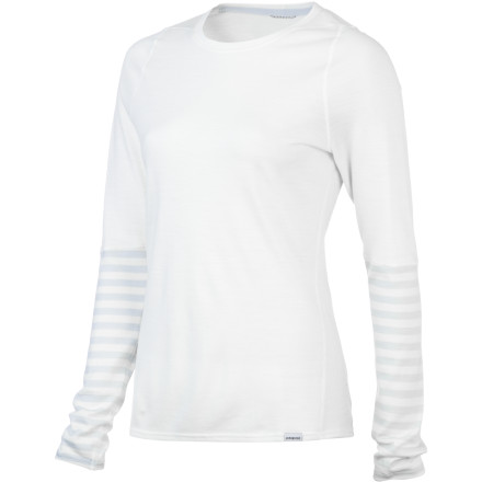 photo: Patagonia Women's Merino 3 Midweight Crew base layer top