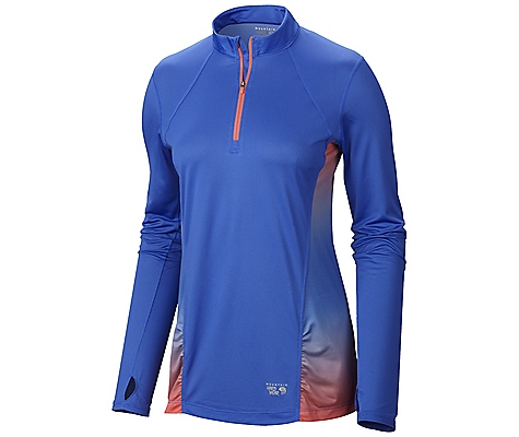 Mountain Hardwear Wicked Electric Long Sleeve Zip T