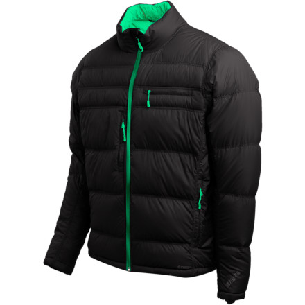 photo: Stoic Men's Luft Down Sweater down insulated jacket