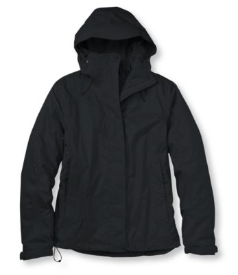 photo: L.L.Bean Trail Model Rain Jacket, Fleece-Lined waterproof jacket