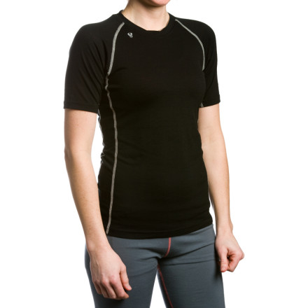 Stoic Merino Crew Shirt - Short-Sleeve